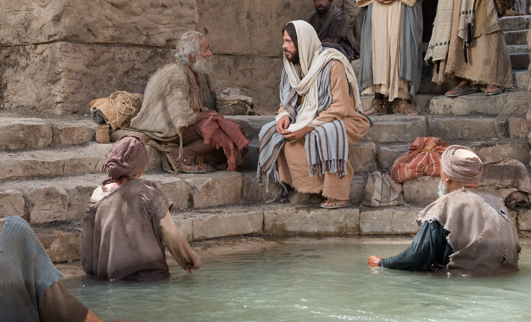 Christ Came to Stir the Waters