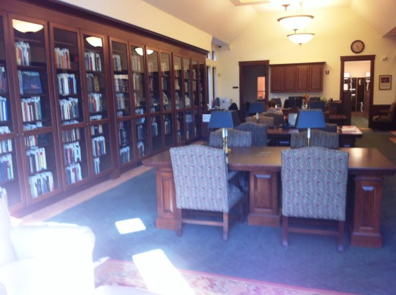 The Wade Center's Reading Room is like heaven for inkling fans. It contains every book written by The Seven, along with almost every secondary title in print.